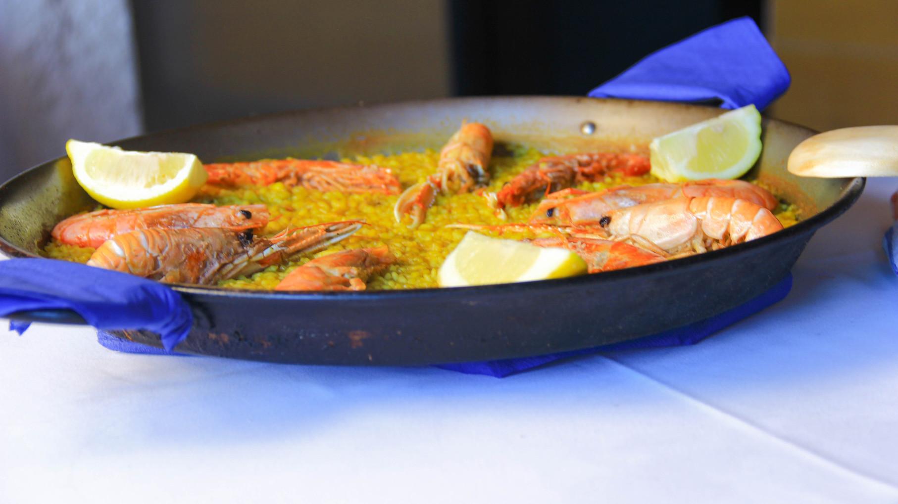 Paellas restaurant mediterr neo - Restaurante mediterraneo pinedo ...